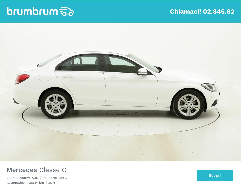Mercedes Classe C usata del 2016 con 36.638 km | brumbrum
