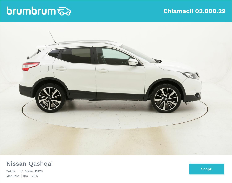 Nissan Qashqai Tekna usata del 2017 con 81.156 km | brumbrum