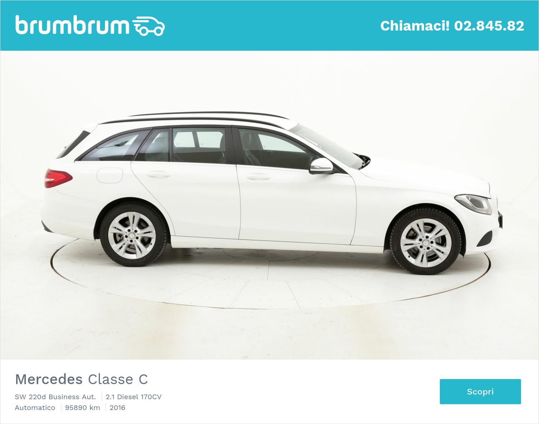 Mercedes Classe C usata del 2016 con 95.930 km | brumbrum