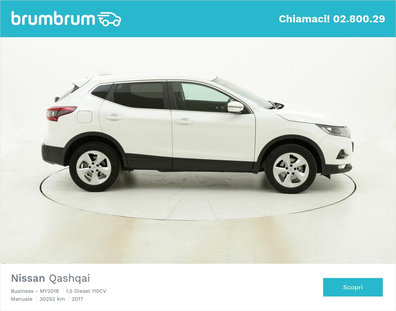 Nissan Qashqai usata del 2017 con 30.414 km | brumbrum