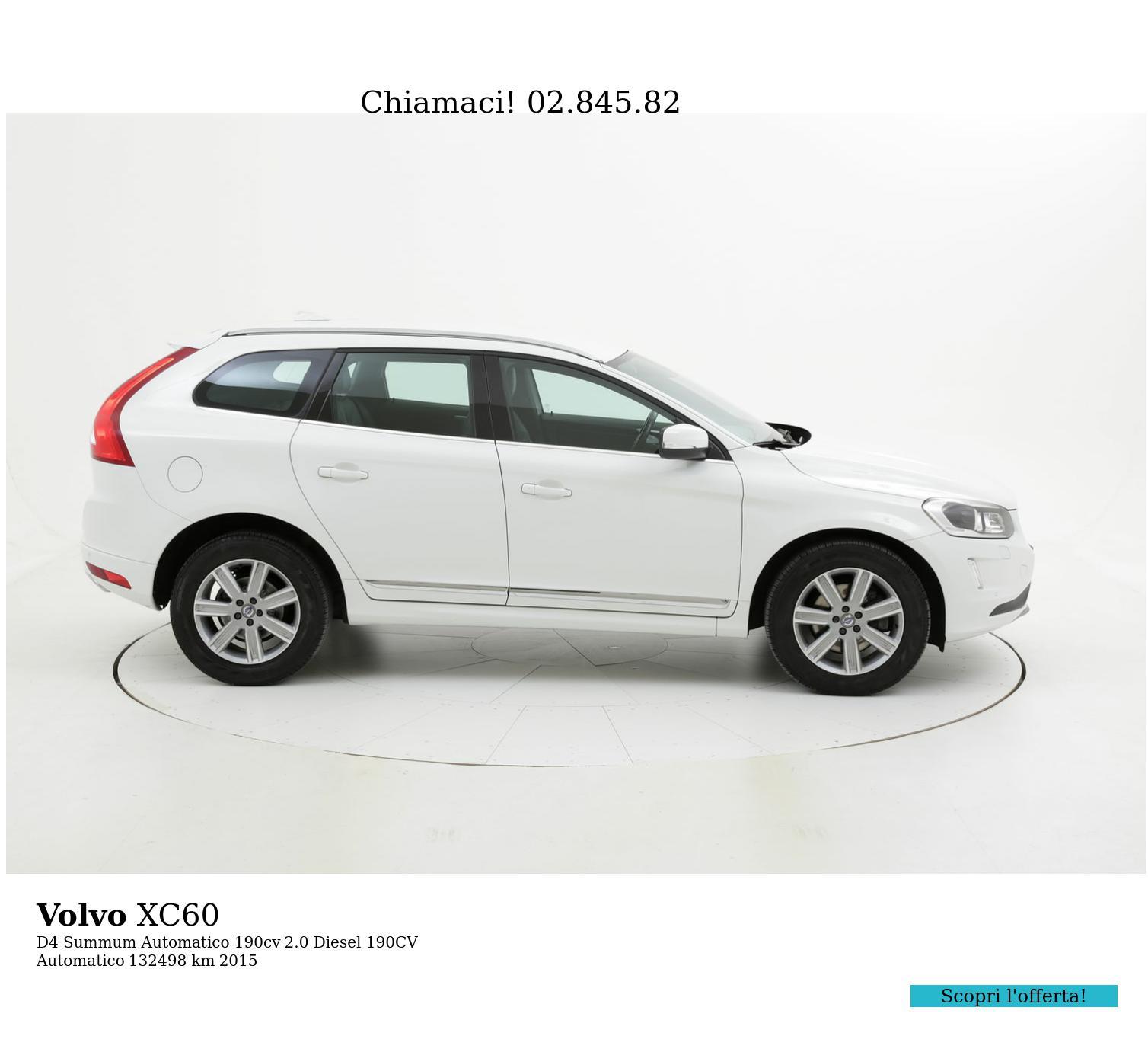 Volvo XC60 usata del 2015 con 133.064 km   brumbrum