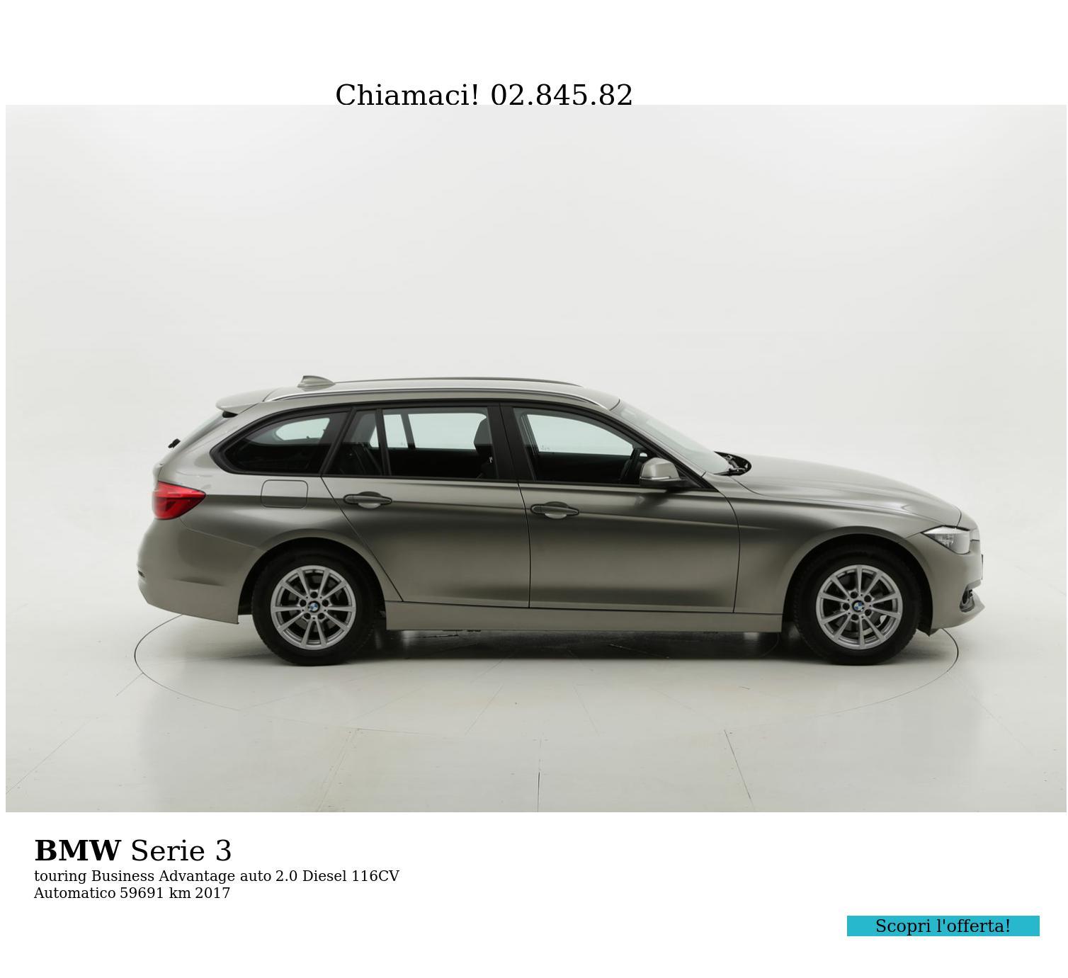 BMW Serie 3 usata del 2017 con 59.819 km | brumbrum