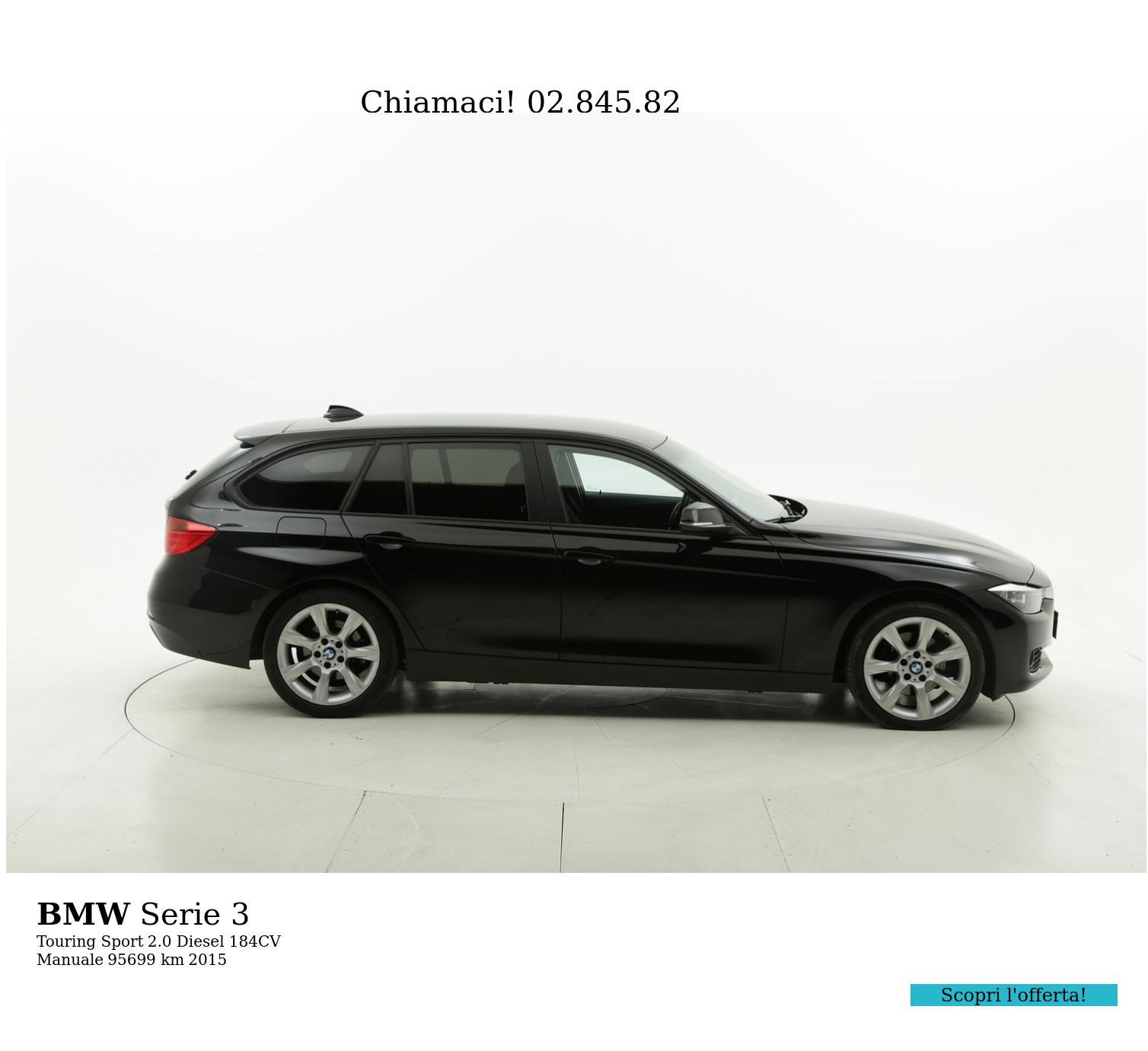 BMW Serie 3 usata del 2015 con 96.296 km | brumbrum