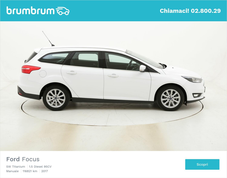 Ford Focus SW Titanium usata del 2017 con 117.019 km | brumbrum