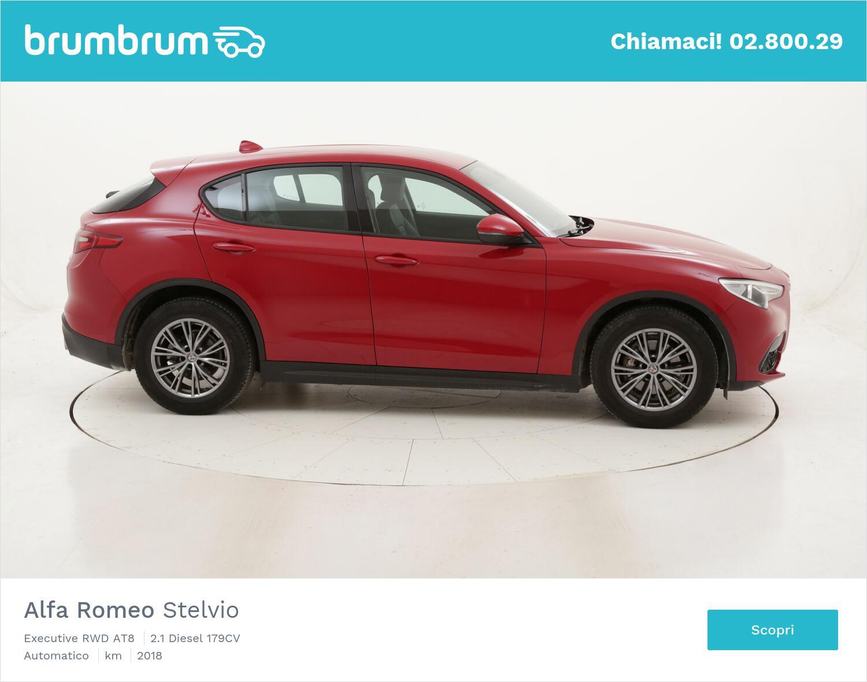 Alfa Romeo Stelvio Executive RWD AT8 usata del 2018 con 25.359 km   brumbrum