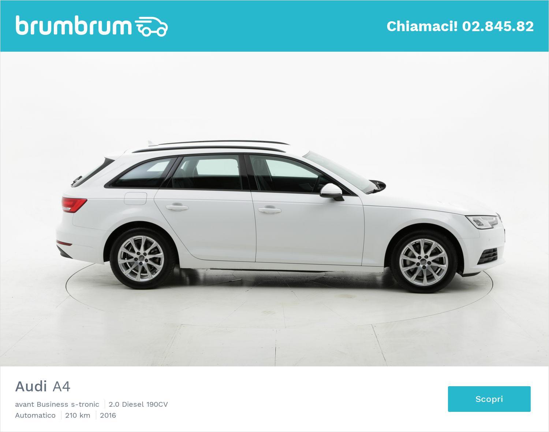 Audi A4 usata del 2016 con 229 km | brumbrum