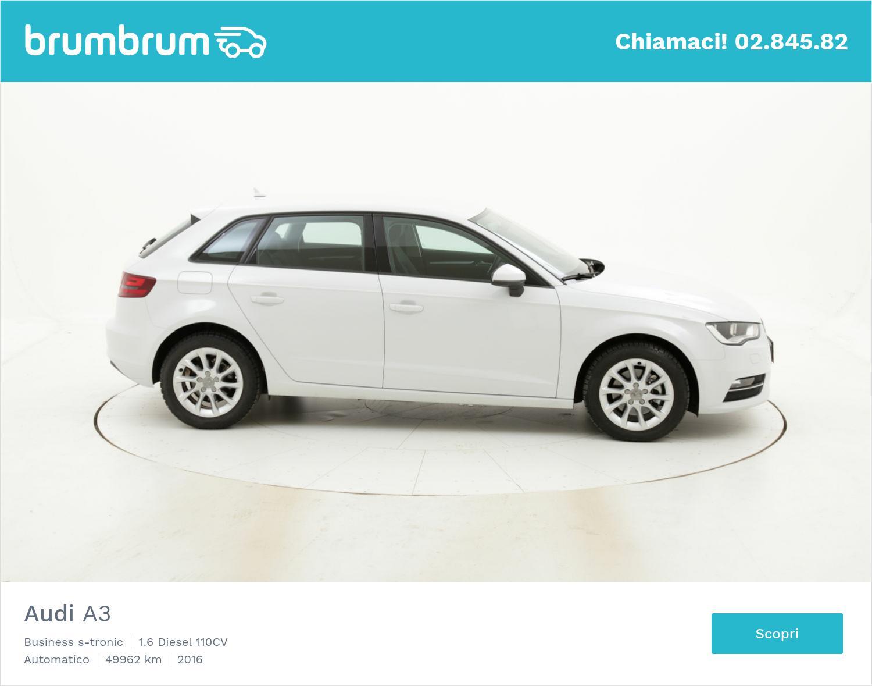 Audi A3 usata del 2016 con 50.251 km | brumbrum