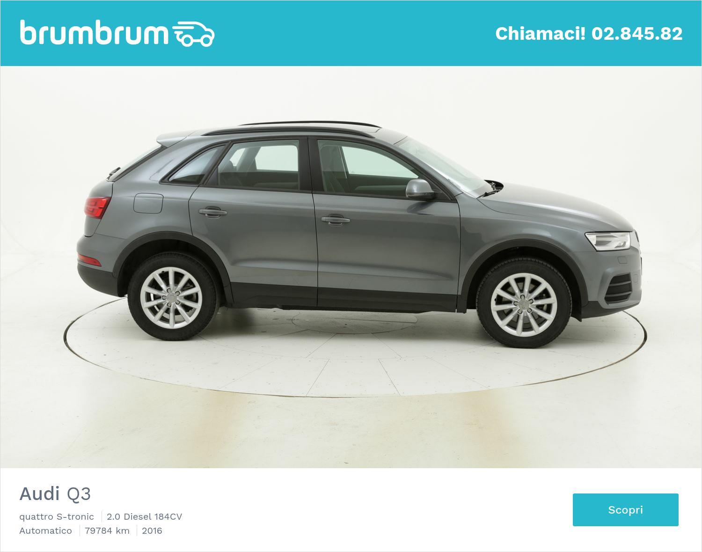 Audi Q3 usata del 2016 con 80.245 km | brumbrum