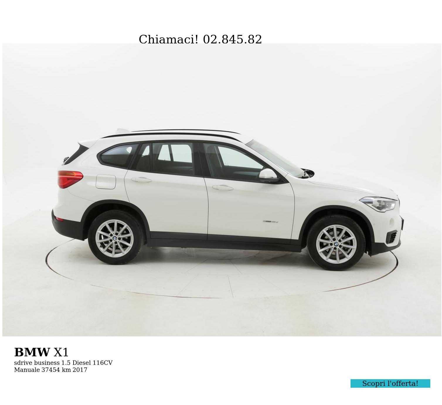 BMW X1 usata del 2017 con 37.613 km | brumbrum
