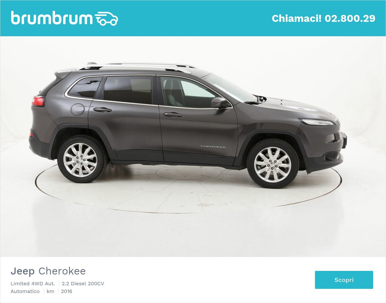 Jeep Cherokee Limited 4WD Aut. usata del 2016 con 56.229 km   brumbrum