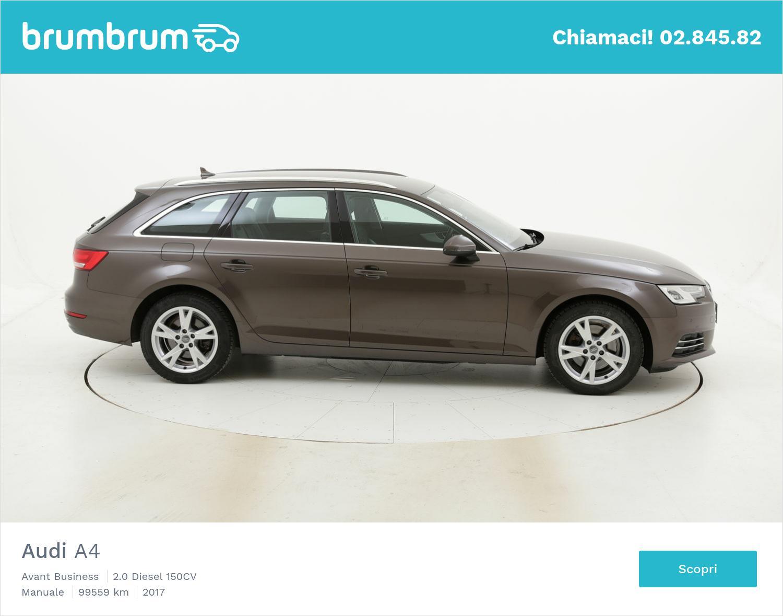 Audi A4 usata del 2017 con 100.024 km | brumbrum