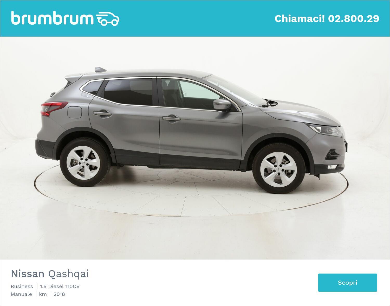 Nissan Qashqai Business usata del 2018 con 40.550 km   brumbrum