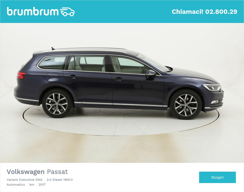 Volkswagen Passat Variant Executive DSG usata del 2017 con 97.234 km | brumbrum