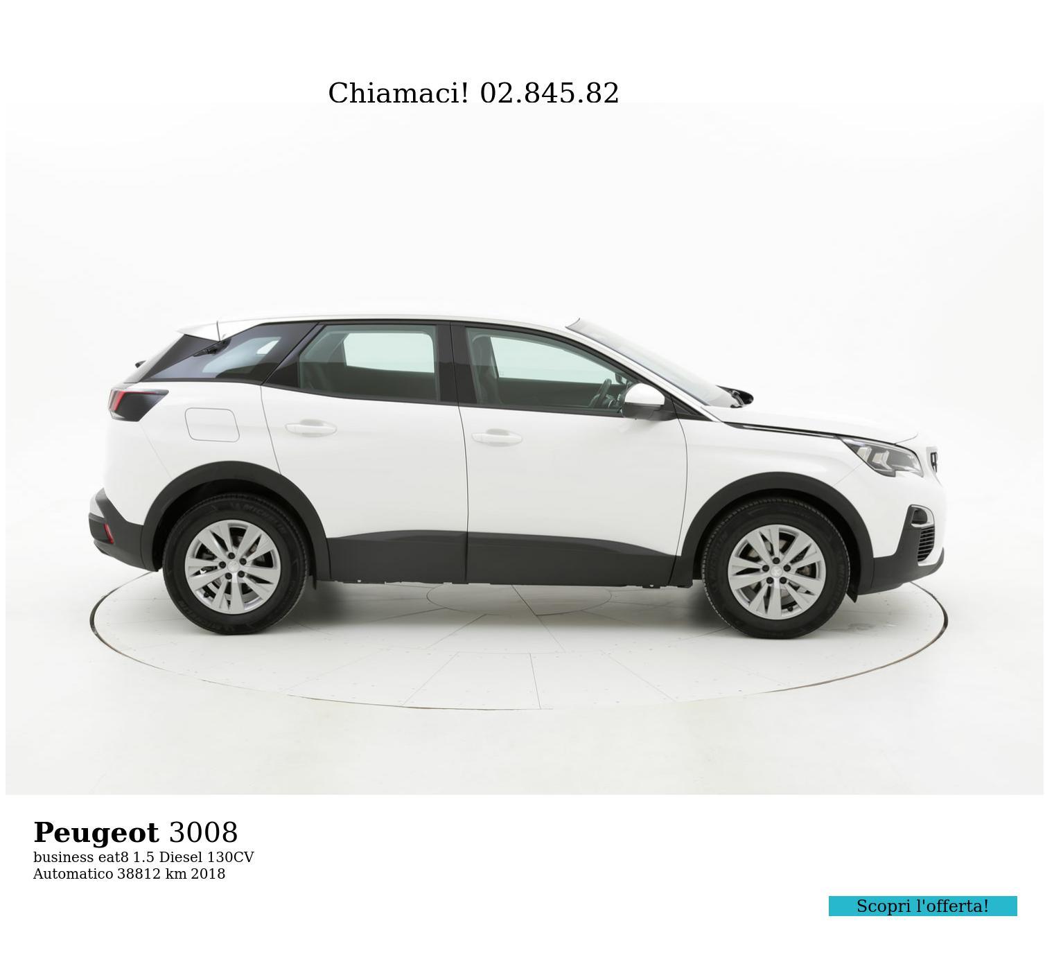 Peugeot 3008 usata del 2018 con 38.830 km | brumbrum