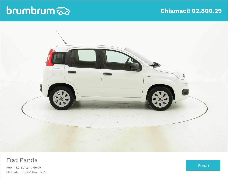 Fiat Panda Pop usata del 2016 con 30.260 km | brumbrum