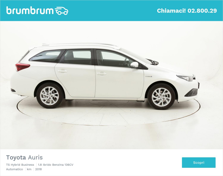 Toyota Auris TS Hybrid Business usata del 2018 con 19.067 km | brumbrum