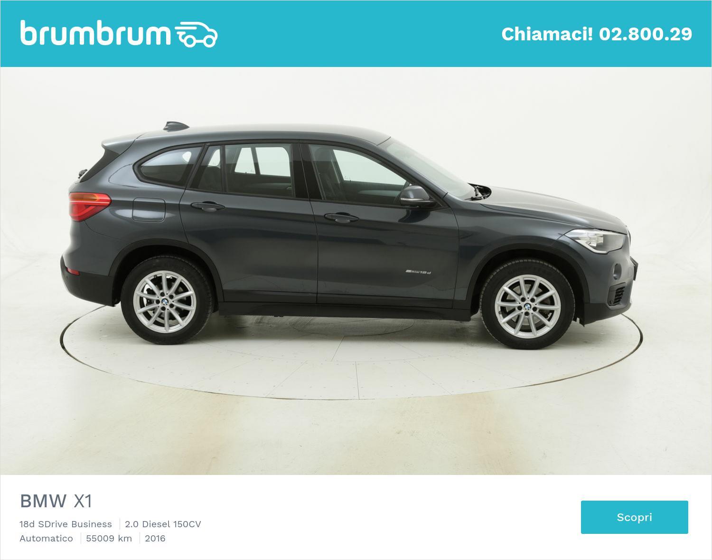BMW X1 18d SDrive Business usata del 2016 con 55.128 km | brumbrum