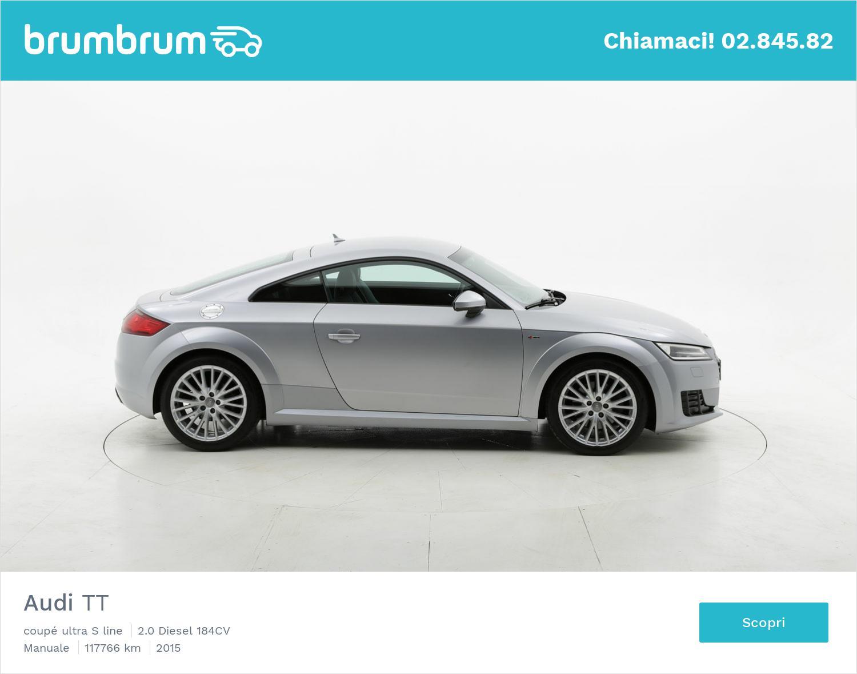 Audi TT usata del 2015 con 111.913 km   brumbrum