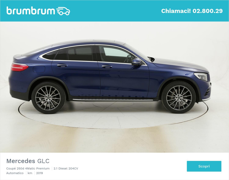 Mercedes GLC Coupé 250d 4Matic Premium usata del 2019 con 13.035 km | brumbrum