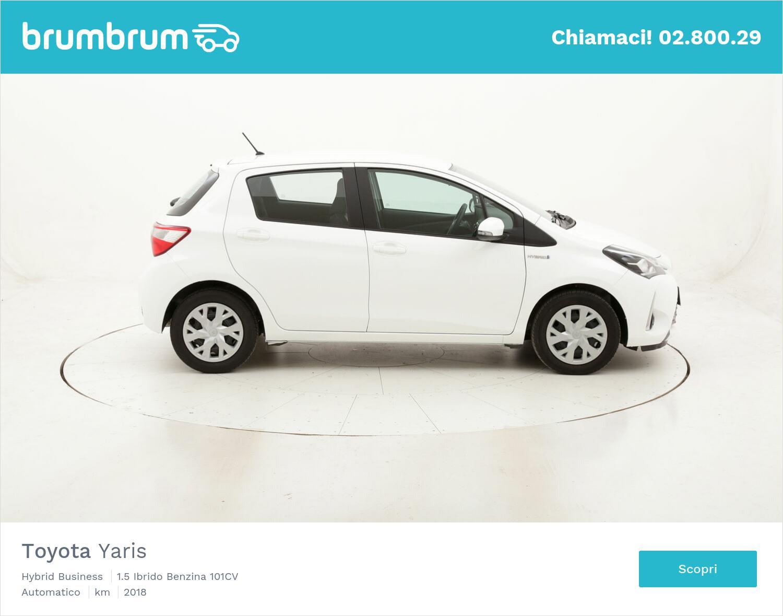 Toyota Yaris Hybrid Business usata del 2018 con 13.102 km   brumbrum