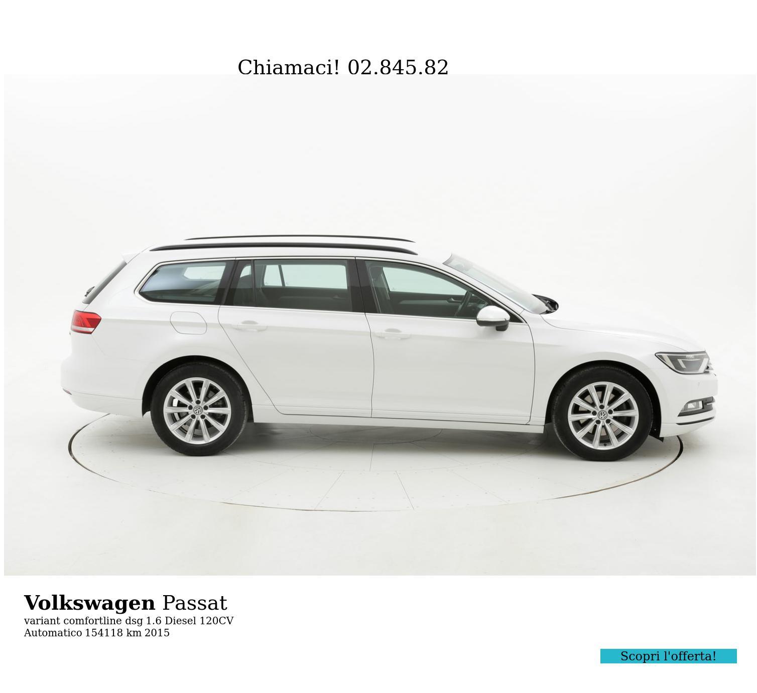 Volkswagen Passat usata del 2015 con 154.370 km | brumbrum