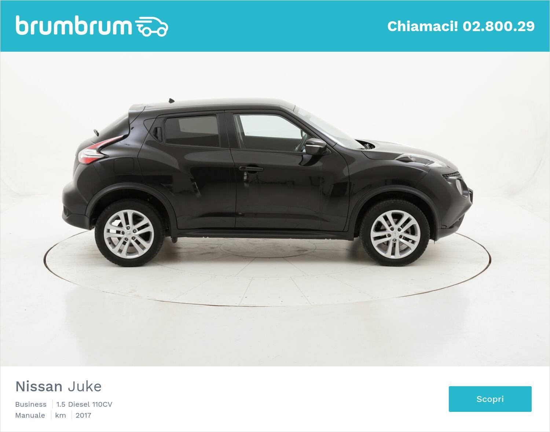 Nissan Juke Business usata del 2017 con 68.462 km   brumbrum