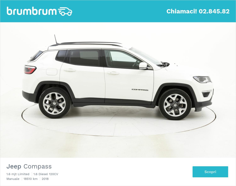 Jeep Compass usata del 2018 con 18.676 km | brumbrum