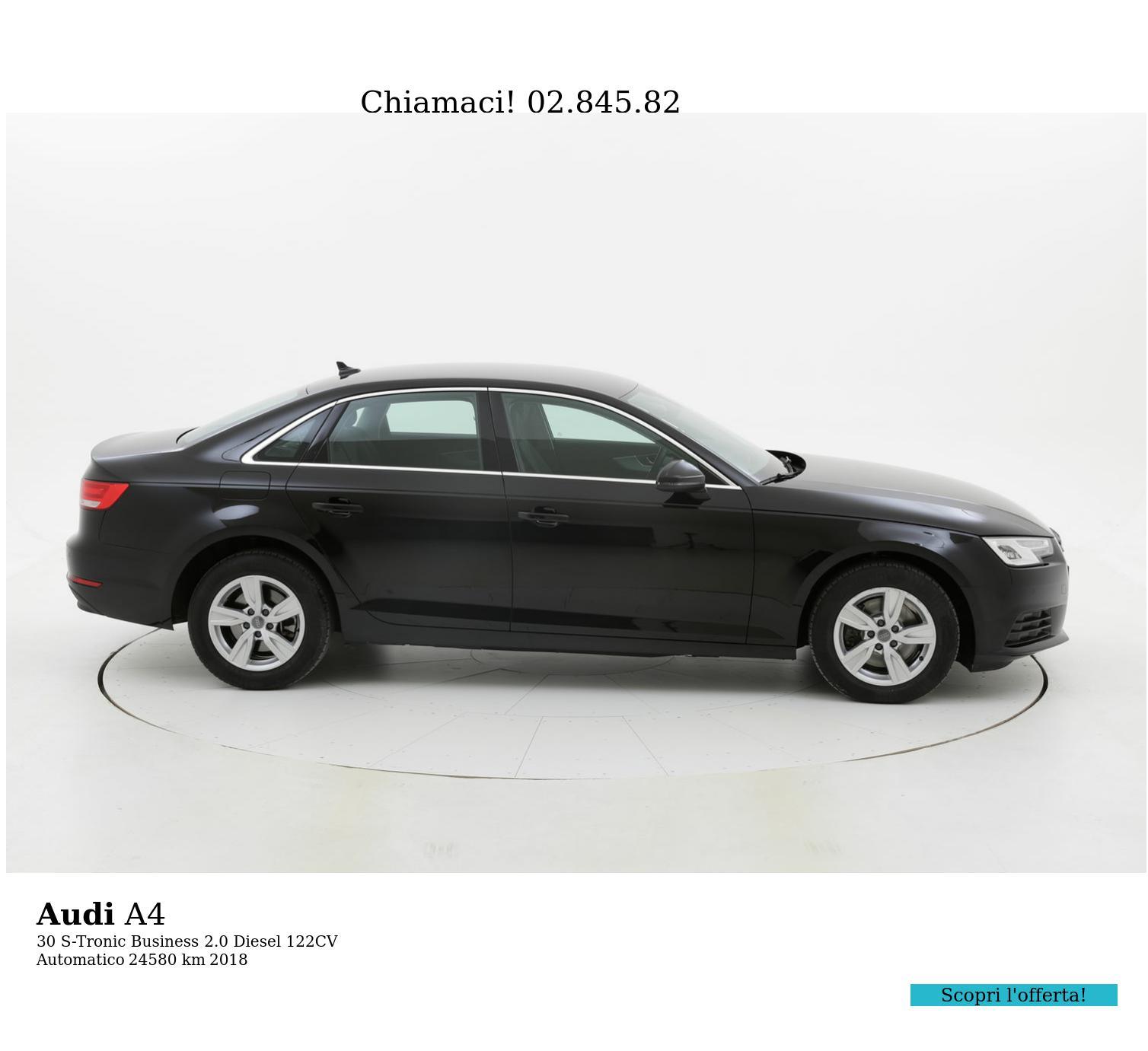 Audi A4 usata del 2018 con 24.958 km | brumbrum