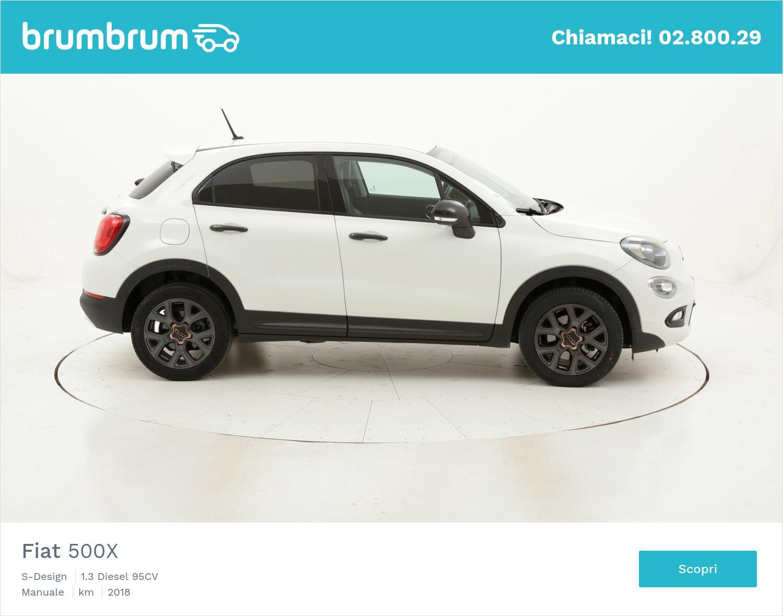 Fiat 500X S-Design usata del 2018 con 29.682 km | brumbrum