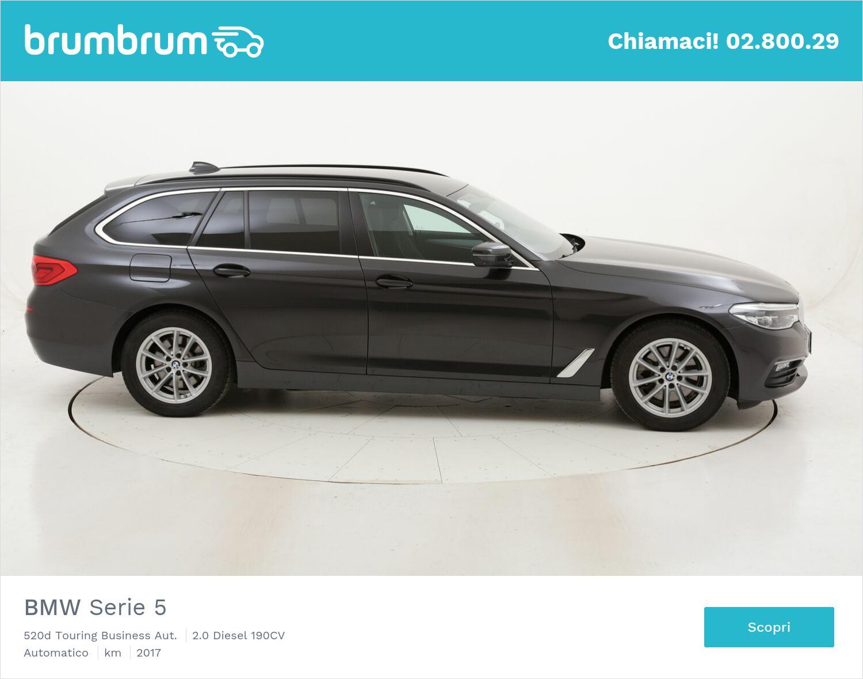 BMW Serie 5 520d Touring Business Aut. usata del 2017 con 97.956 km | brumbrum