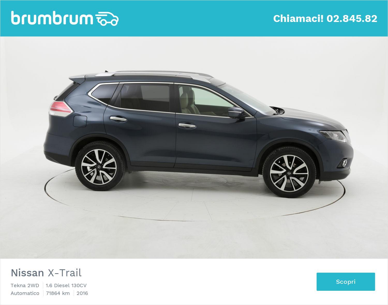 Nissan X-Trail usata del 2016 con 71.958 km | brumbrum
