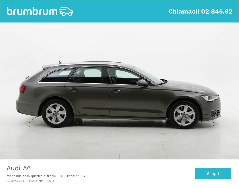 Audi A6 usata del 2015 con 52.500 km | brumbrum