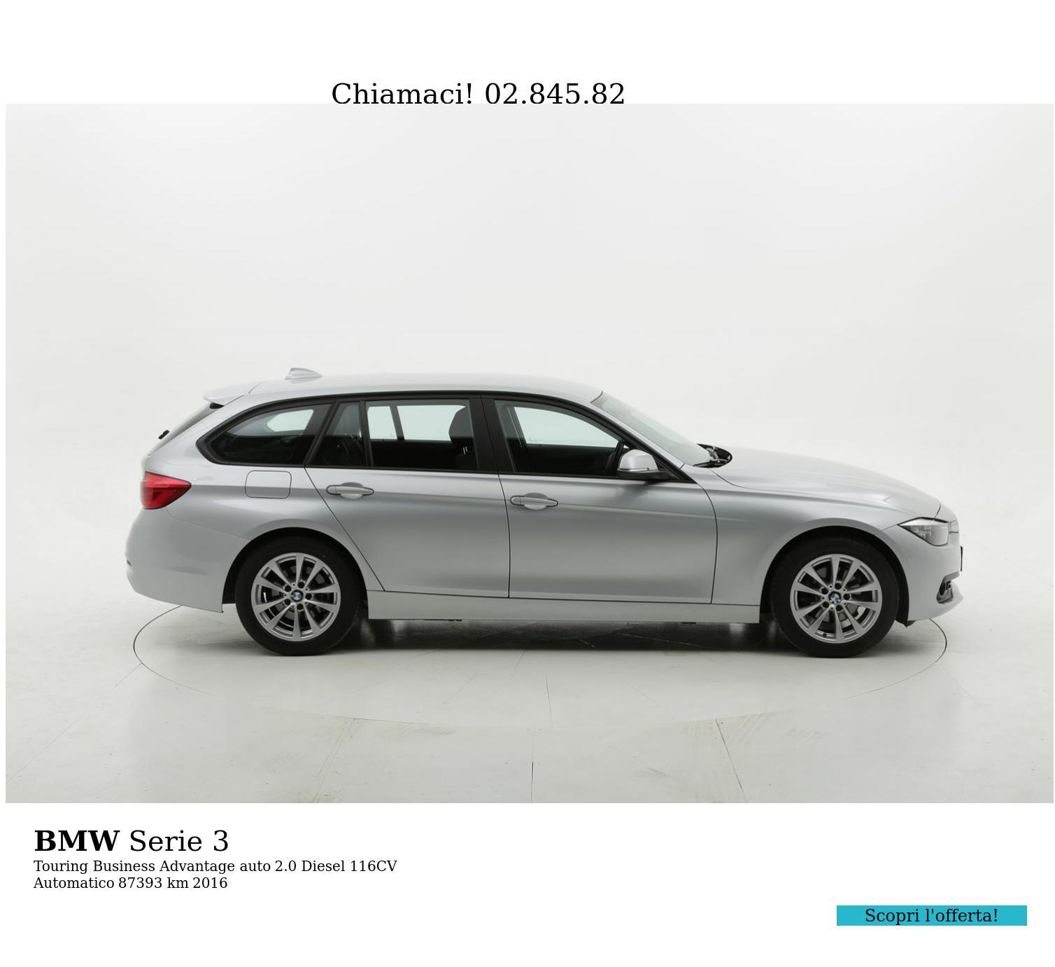 BMW Serie 3 usata del 2016 con 87.810 km | brumbrum