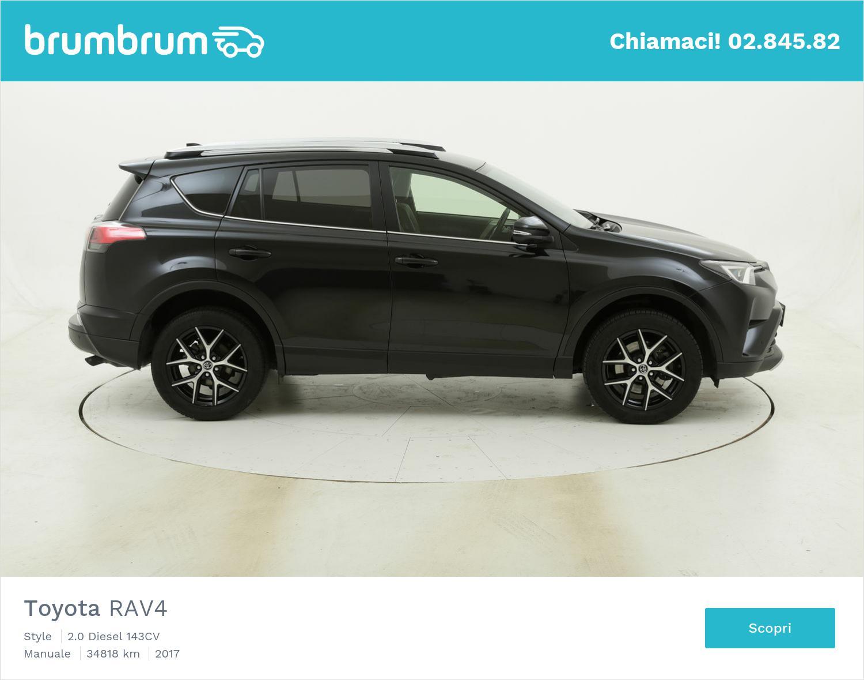Toyota RAV4 Style usata del 2017 con 35.211 km | brumbrum