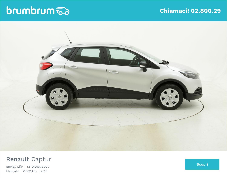 Renault Captur Energy Life usata del 2016 con 71.493 km | brumbrum