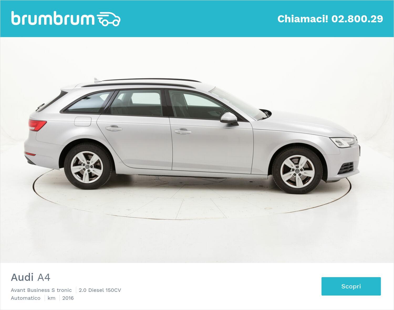 Audi A4 Avant Business S tronic usata del 2016 con 98.215 km | brumbrum
