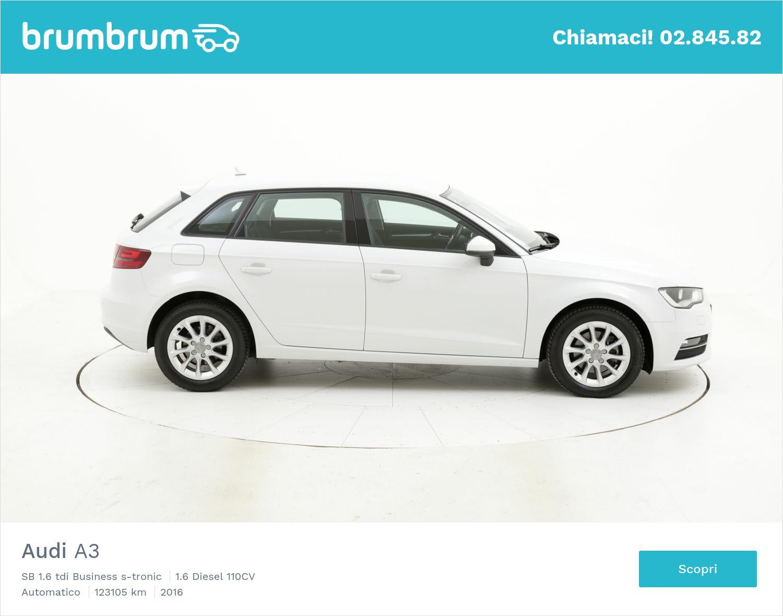 Audi A3 usata del 2016 con 123.181 km | brumbrum