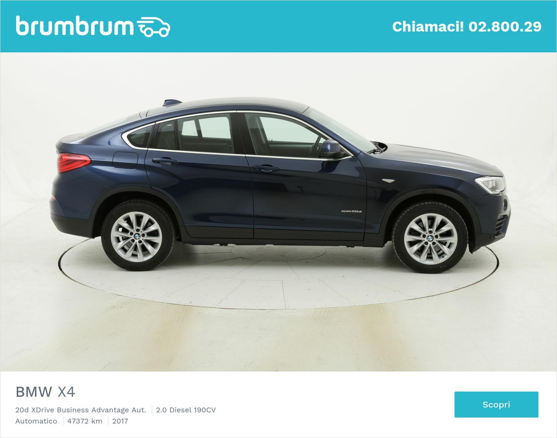 BMW X4 usata del 2017 con 47.430 km | brumbrum