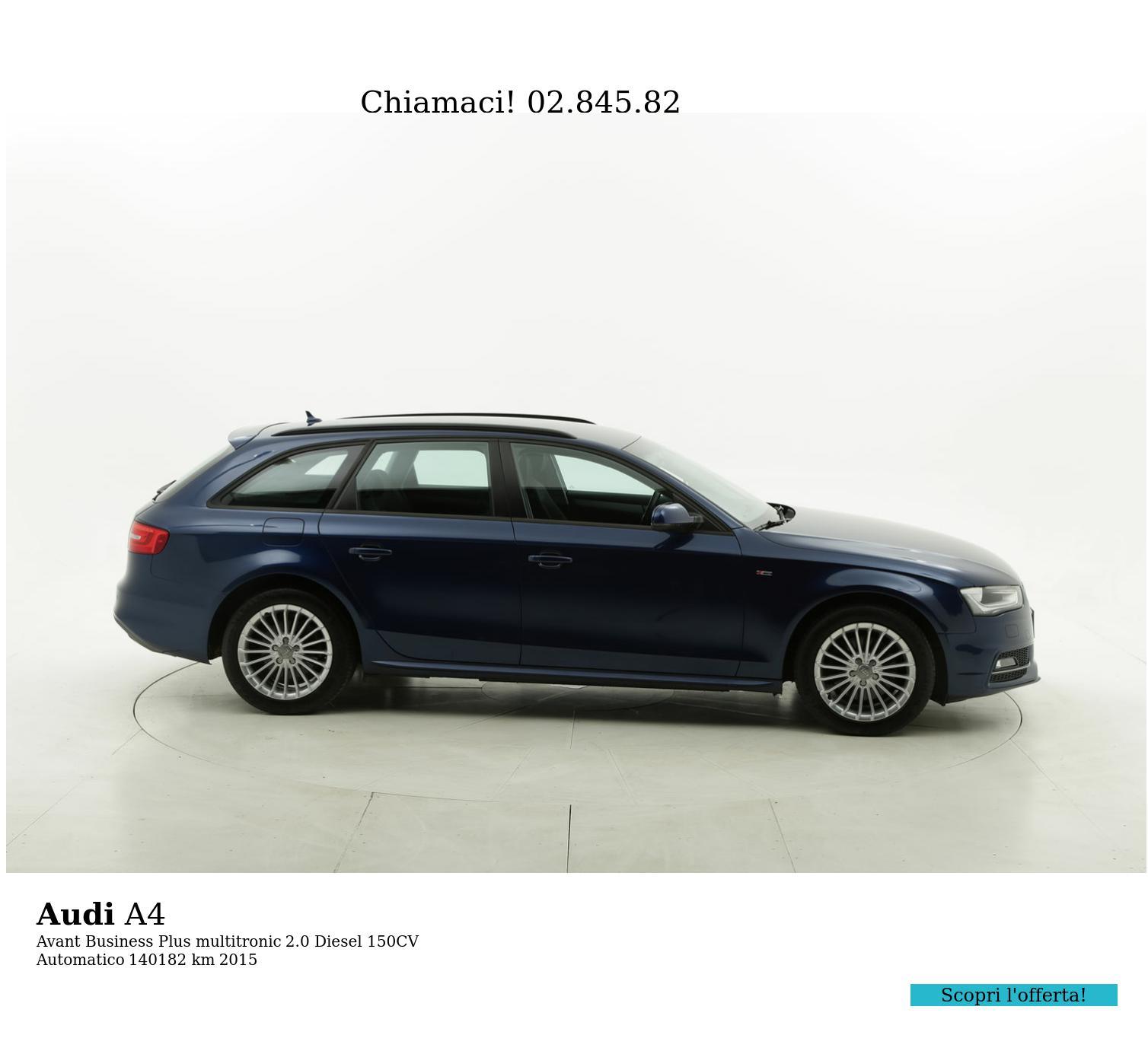 Audi A4 usata del 2015 con 140.513 km | brumbrum