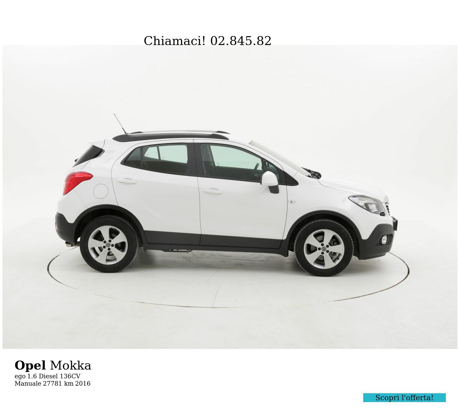 Opel Mokka usata del 2016 con 27.844 km | brumbrum