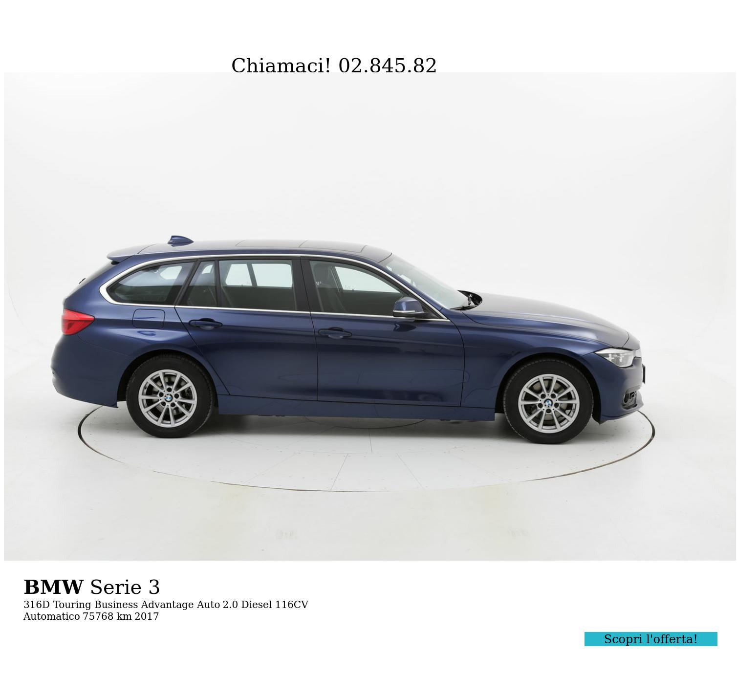 BMW Serie 3 usata del 2017 con 75.778 km | brumbrum