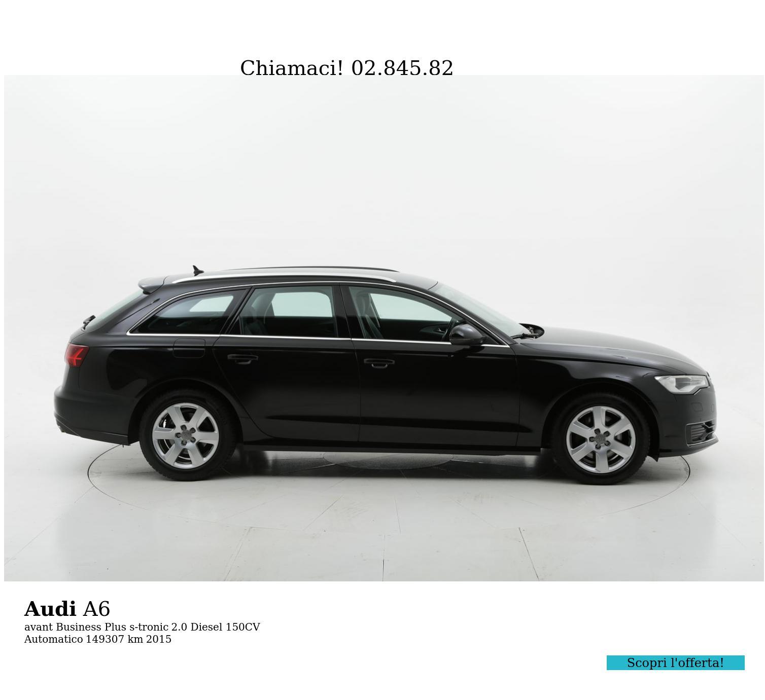 Audi A6 usata del 2015 con 149.416 km   brumbrum
