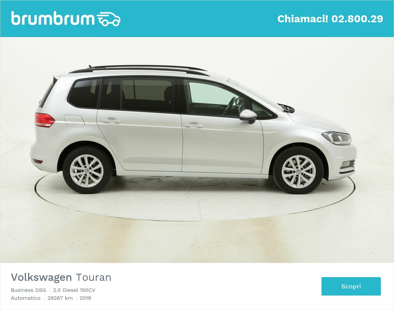 Volkswagen Touran Business DSG usata del 2018 con 30.005 km   brumbrum
