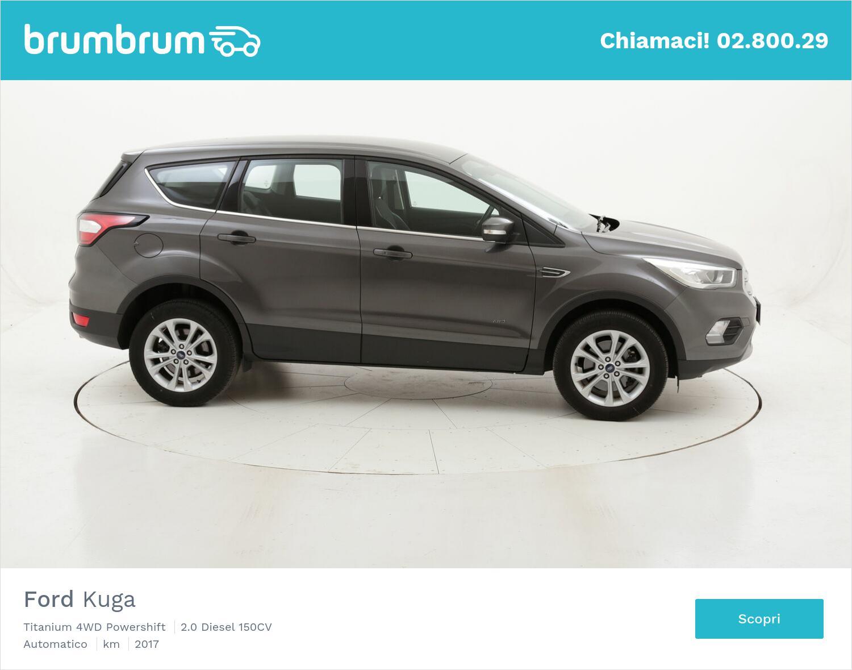 Ford Kuga Titanium 4WD Powershift usata del 2017 con 103.435 km   brumbrum