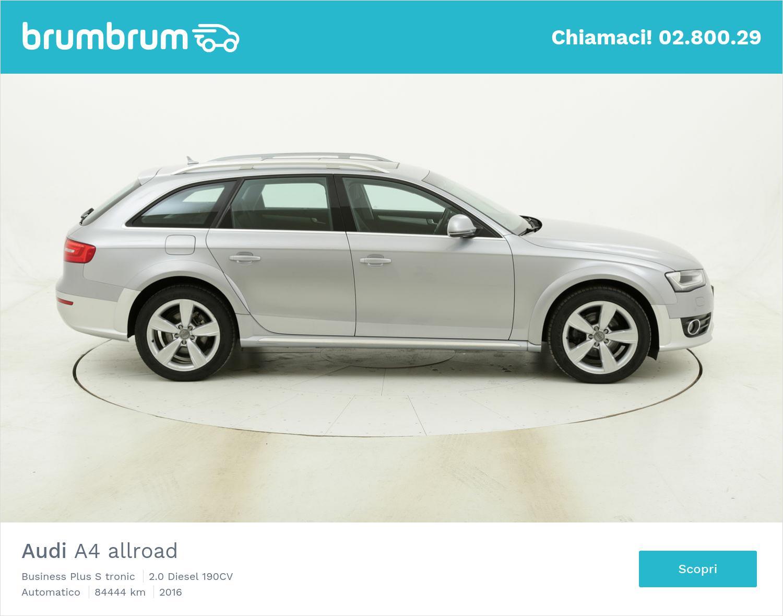 Audi A4 allroad Business Plus S tronic usata del 2016 con 84.583 km | brumbrum