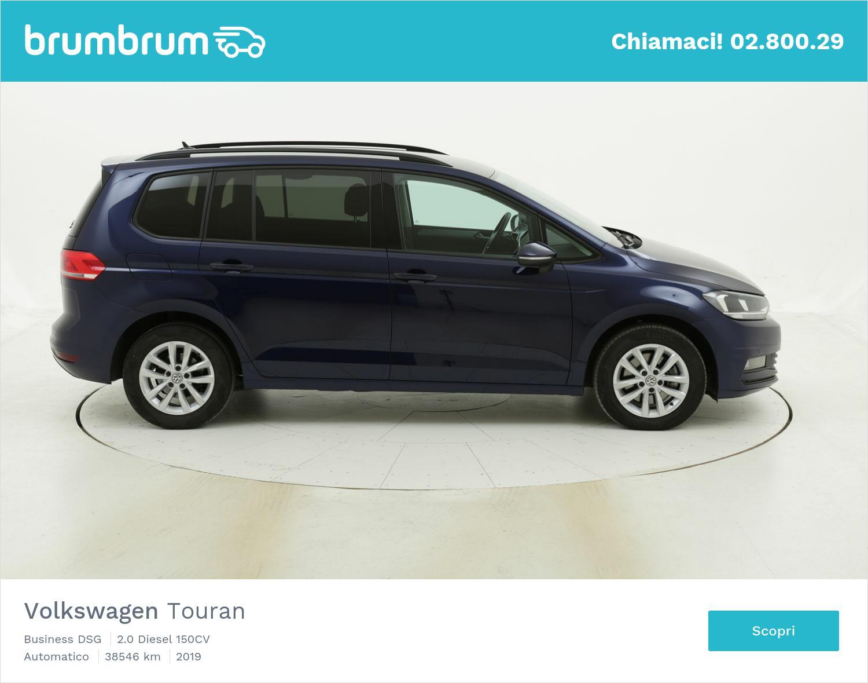 Volkswagen Touran Business DSG usata del 2019 con 39.203 km | brumbrum