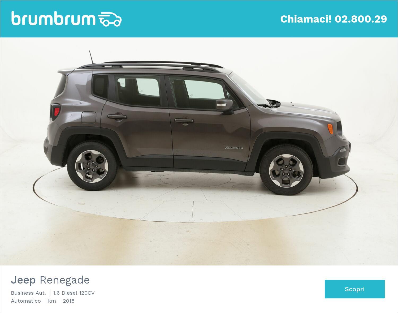 Jeep Renegade Business Aut. usata del 2018 con 42.916 km | brumbrum