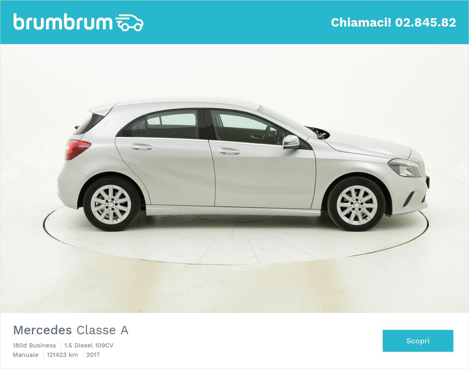 Mercedes Classe A usata del 2017 con 121.460 km | brumbrum