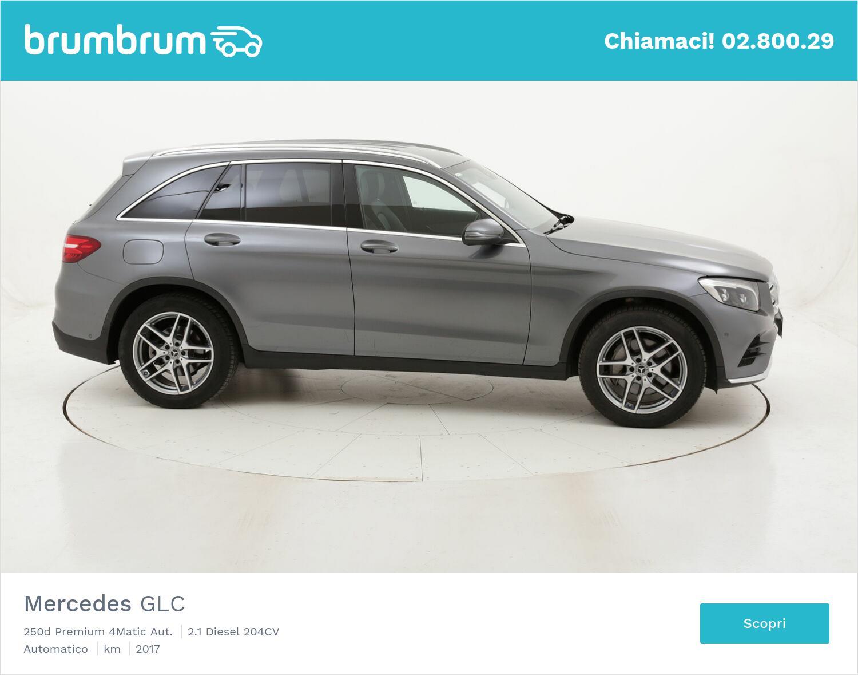 Mercedes GLC 250d Premium 4Matic Aut. usata del 2017 con 74.766 km | brumbrum