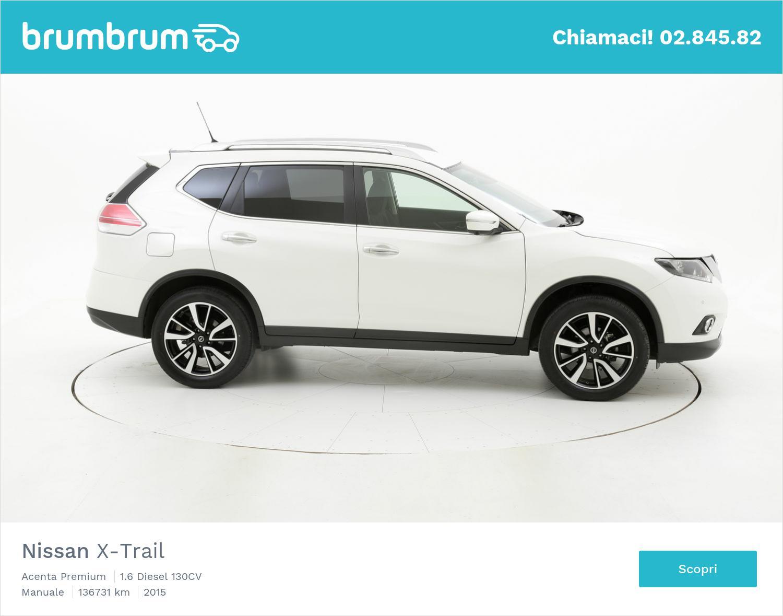 Nissan X-Trail usata del 2015 con 136.768 km | brumbrum